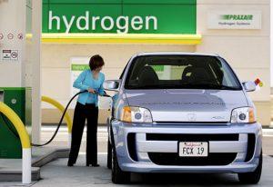 bahan bakar hidrogen