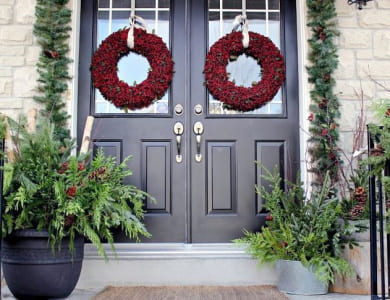 Buat Floral Wreath untuk Hiasan Rumahmu, yuk!